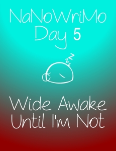 nanowrimoday5