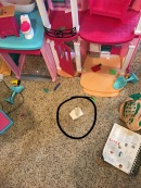 Barbie's Dream House does not have a laundry room.